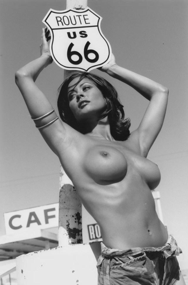 Brooke Burke - topless (2)