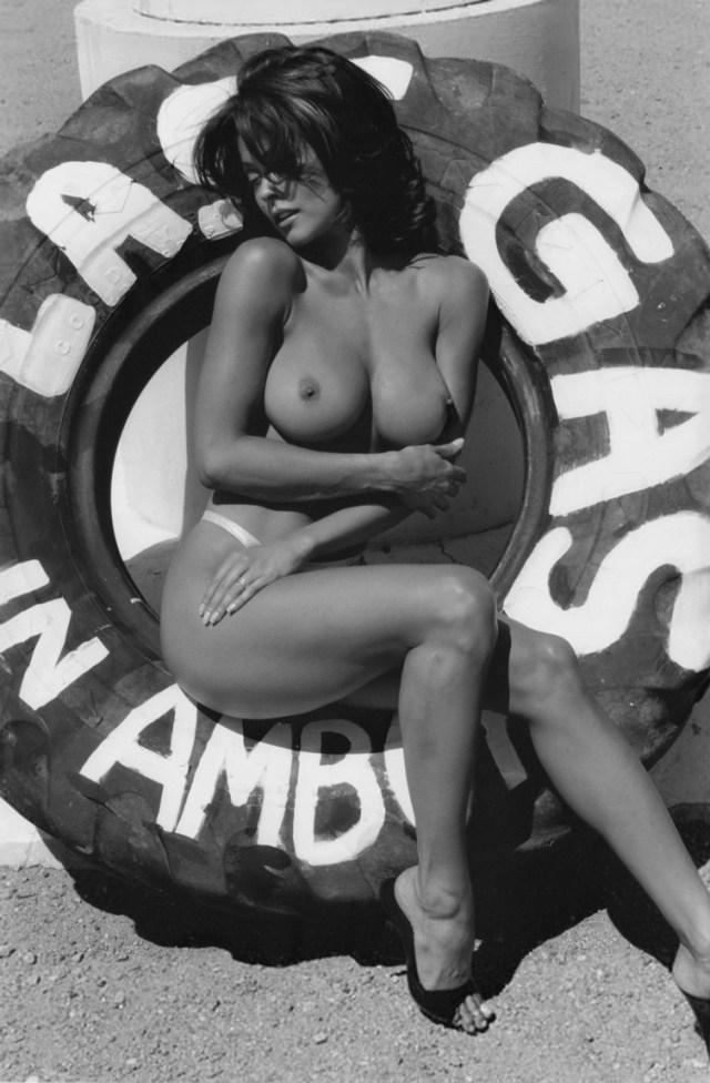 Brooke Burke - topless (3)