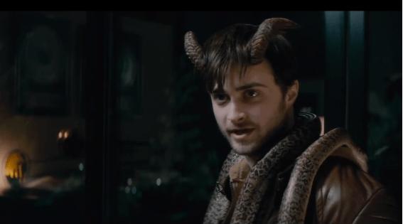 """Foto: Daniel Radcliffe  en """"Horns"""" / Youtube"""