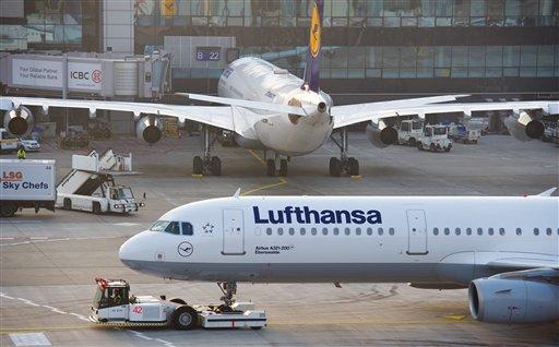 Lufthansa huelga