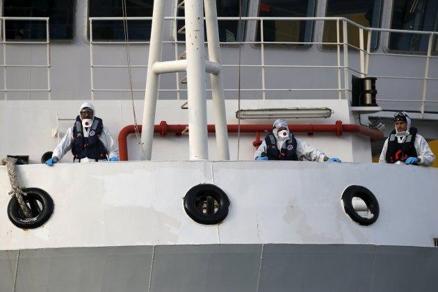 Guardia costera de Italia (Foto Reuters)