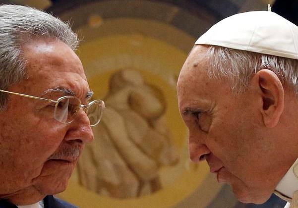 papa francisco raul castro