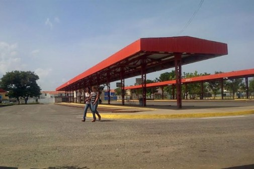 Foto: El terminal de Lagunillas /  panorama.com.ve