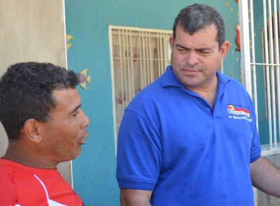 """Foto: concejal de Porlamar, Alexandro """"BamBam"""" Carreño / Nota de prensa"""