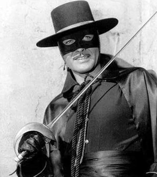 """Guy Williams El Zorro 3 - El final de Guy Williams, la estrella de """"El Zorro"""", quien murió en el mayor de los olvidos"""