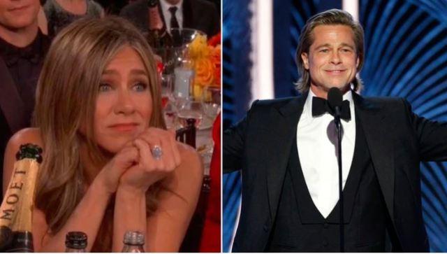 brad pitt - ¡OMG! Jennifer Aniston sigue usando el anillo de compromiso de Brad Pitt