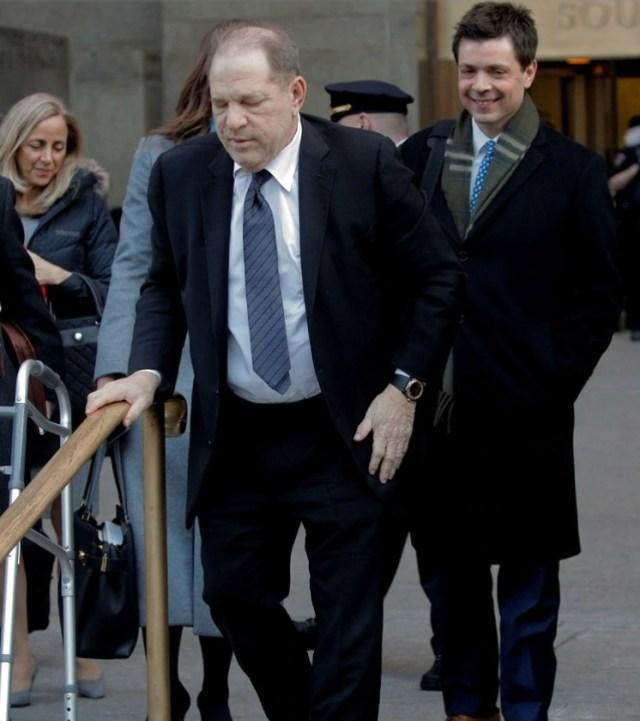 harvey3 - Los escabrosos detalles que se revelaron en el juicio que terminó con la condena de Weinstein - #Noticias