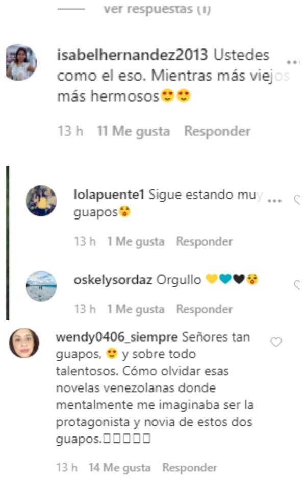 Instagram - Los actores Jorge Aravena y Carlos Montilla se reencuentran y generaron controversia por su apariencia (FOTO) - #Noticias