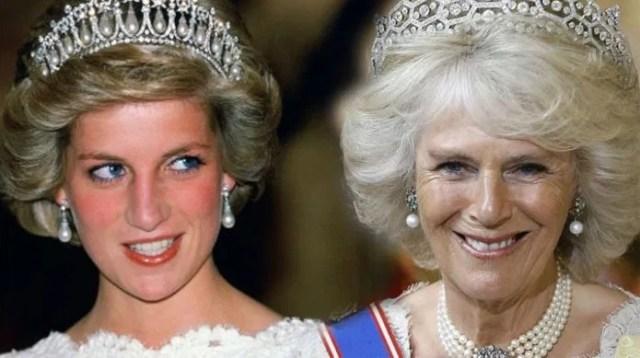 diana camila - Aunque el príncipe Carlos pase a ser rey, Camila no recibe el título de reina - #Noticias