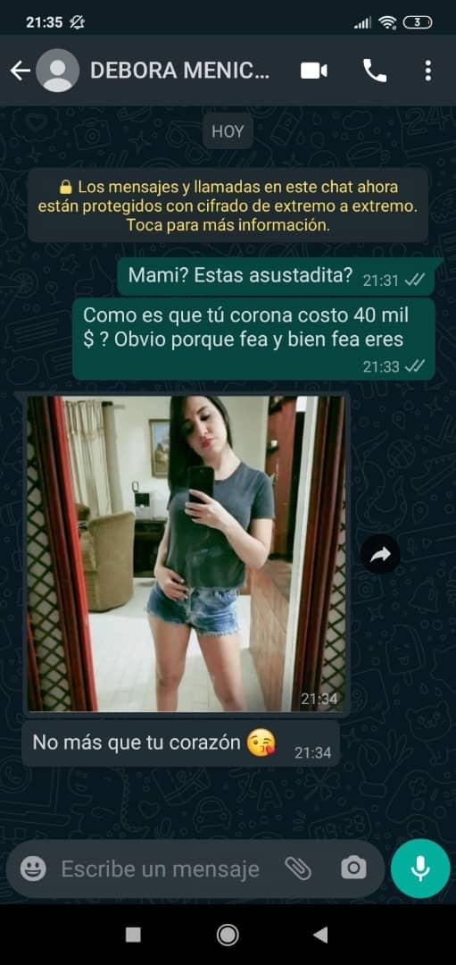"""6cee1a84 9d08 4c2e 8651 78a4cc652169 1 - ¡Insólito! Detuvieron a madre venezolana tras decirle """"fea"""" a Debora Menicucci, esposa de Maikel Moreno"""