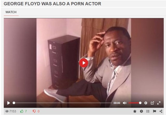 george phorn - En medio del caos: Revelaron que George Floyd era actor porno