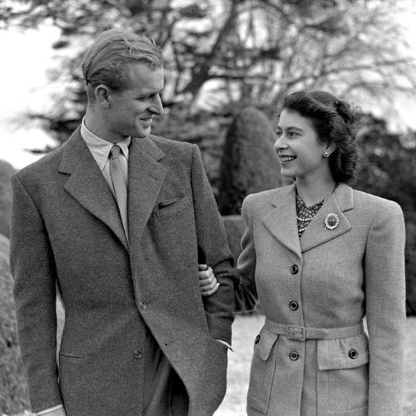 reina isabel y felipe - La reina Isabel II y Felipe celebran 73 años de casados