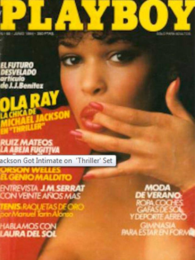 H6HE3EC4WRHIVMMOHC2D5PGUGU - Qué fue de la vida de Ola Ray, la modelo de Playboy que protagonizó Thriller, el célebre video de Michael Jackson