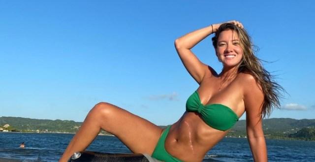 da - Ex reina de belleza Daniella Álvarez presumió su cuerpazo en bikini y mostró por primera vez su prótesis (FOTAZA)