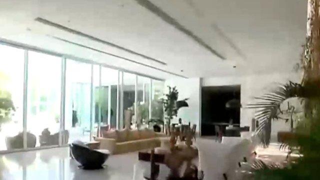 Casa de Xuxa 4 - Playa, estudio de fotografía y una selva en medio de la sala (FOTOS)