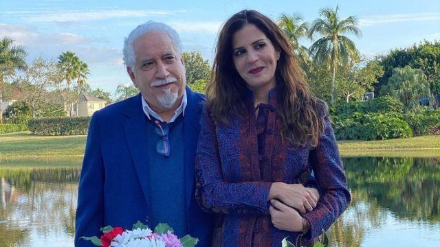 Mariaca Semprun y leonardo padron - Mariaca Semprún y Leonardo Padrón se casaron en Miami