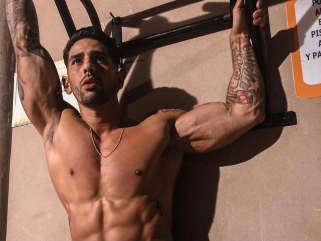 119CF8F5 12C7 48DD A2FA B8A80023BEEC - Moisés Cuellar deja la bandera de Venezuela en alto en el mundo fitness colombiano