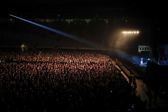 2021 03 27T193147Z 1584426055 RC2VJM9EVCPH RTRMADP 3 HEALTH CORONAVIRUS SPAIN CONCERT - España tuvo su primer concierto masivo en pandemia sin distanciamiento social (FOTOS)