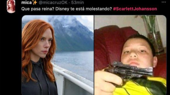 meme 9 - Los mejores MEMES que dejó la demanda de Scarlett Johansson a Disney