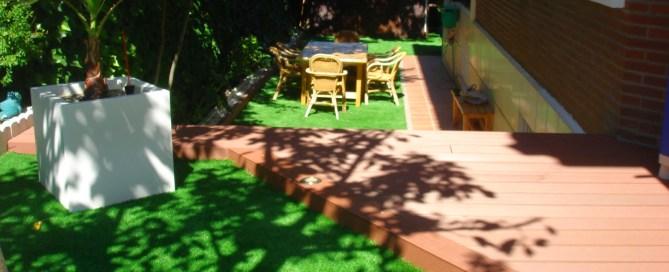 Jardines sin mantenimiento
