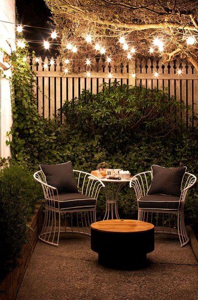 Iluminación jardines pequeños