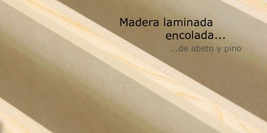 Madera laminada