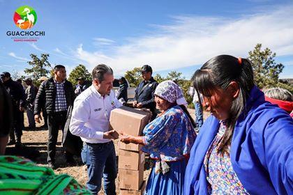 Entrega de apoyos del Fondo de Desastres Naturales (FONDEN)