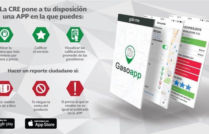 Checa qué gasolinera da el precio más bajo con esta app