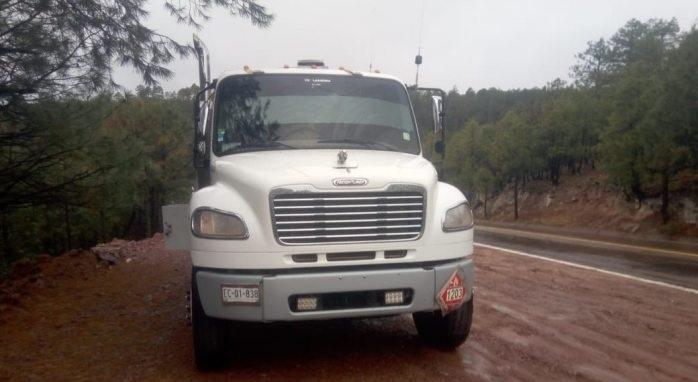 Hallan vacía segunda pipa robada en Bocoyna