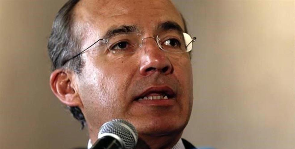 Rechaza Calderón acusaciones de AMLO