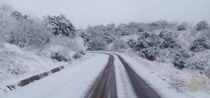 Reabren tramos carreteros después de las nevadas