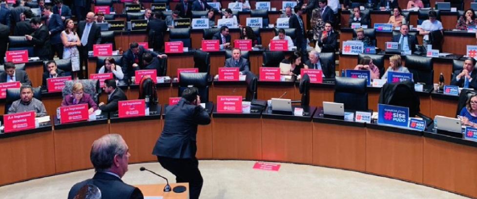 Aprueba Senado por unanimidad la guardia nacional con mando civil