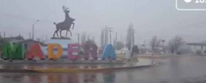 Cae nieve en Madera (Video)