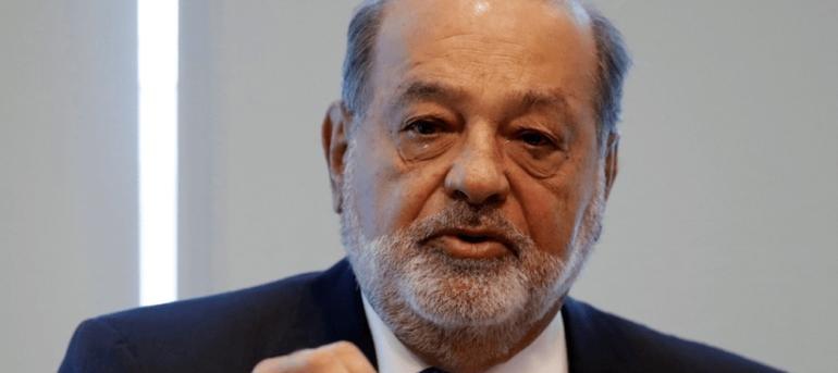 Acciones de Carso caen tras anuncio de AMLO del retiro de Slim