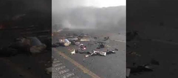 Deja 21 muertos terrible accidente en la carretera Orizaba – Puebla