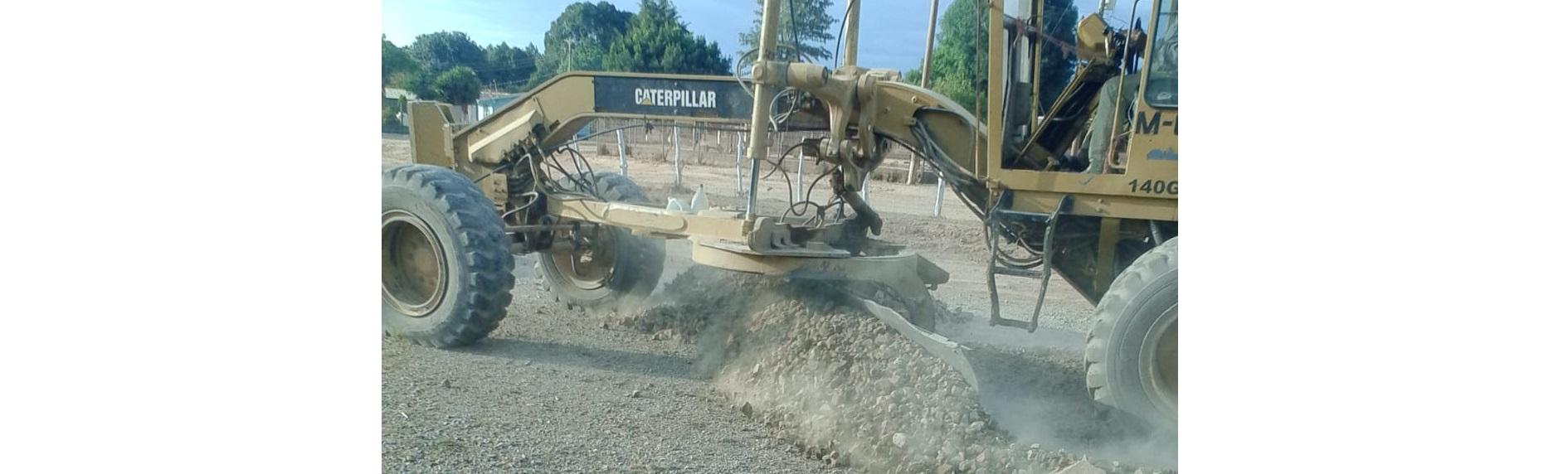 Ayuntamiento de Morelos reactiva pistas en sus comunidades con el fin de brindar seguridad a sus habitantes