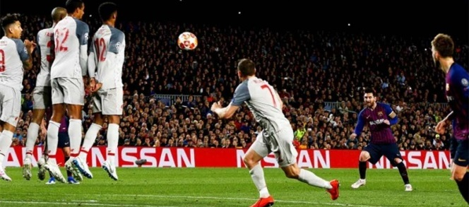 Obra de arte de Messi, el mejor gol de la Champions