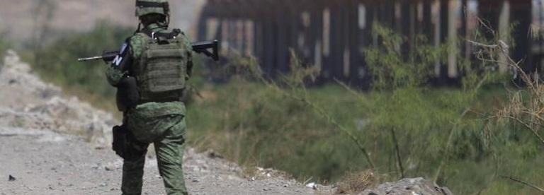 Arribó la Guardia Nacional al Río Bravo en Ciudad Juárez