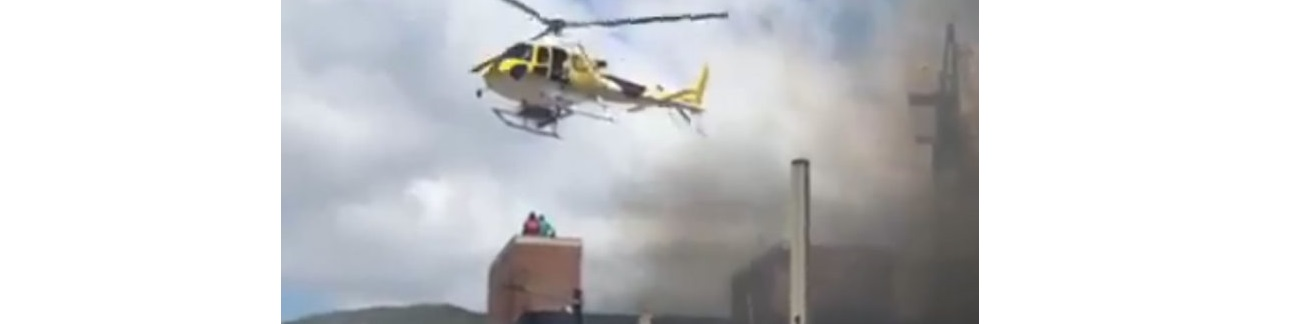 Realiza piloto rescate imposible