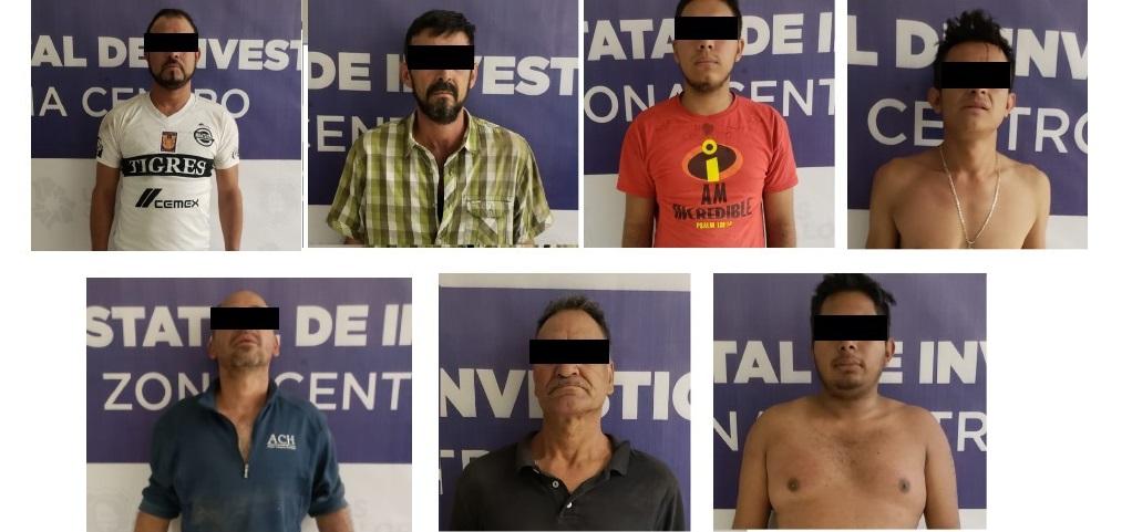 Capturan en Allende a siete presuntos integrantes de un grupo criminal