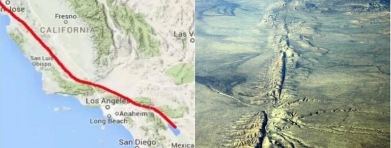 Advierten megasismo en falla de San Andrés dentro de próximos 30 años
