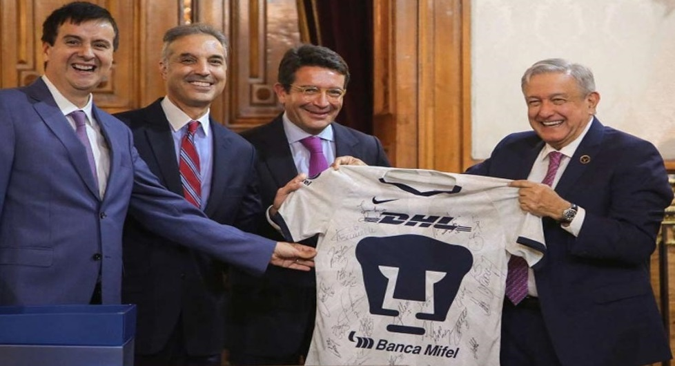 López Obrador anuncia inversión de 300 mdd de DHL en México