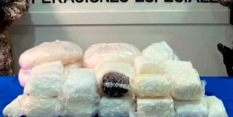 Realizan decomiso millonario al narco en Tamaulipas