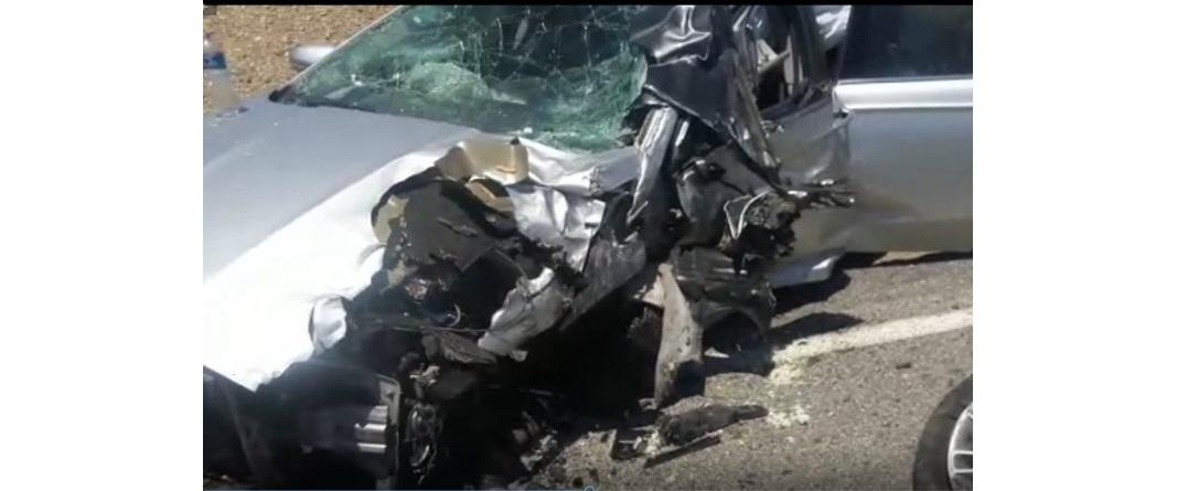 Deja 9 lesionados accidente en carretera a Ojinaga