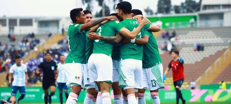 Lima 2019: Con solo diez hombres México vence 2-1 a Argentina