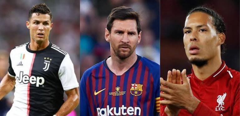 Van Dijk, Messi y Cristiano son los nominados a Jugador del Año