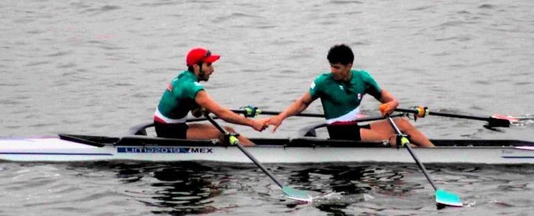 Ganan medalla de oro en remo para México; es la número 28