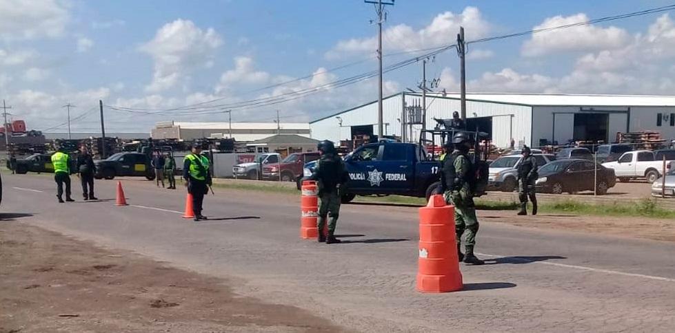 Inician con retenes, redefinición de estrategia de seguridad en Cuauhtémoc