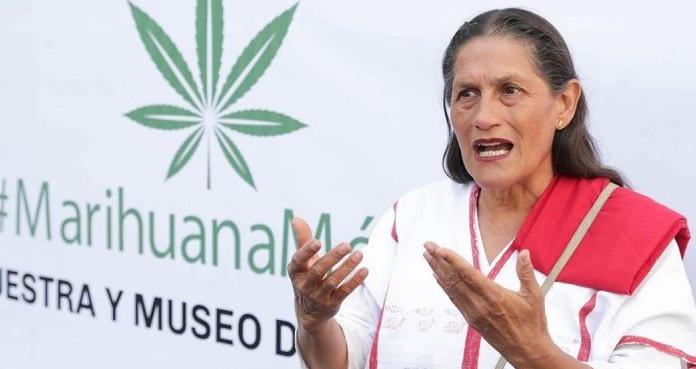 La marihuana es una planta sagrada: Jesusa Rodríguez