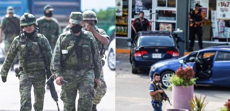 """""""¡Cobardes, éramos 350 vs 800!"""" en Culiacán: Militares (VIDEO VIRAL)"""